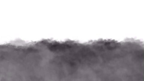 Running clouds and smoke Animation
