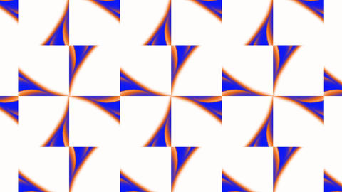 flower mosaics pattern background,music stage backgrounda Stock Video Footage