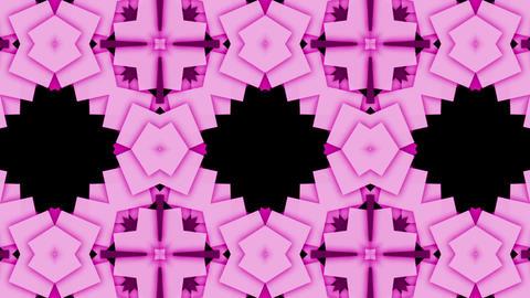 flower mosaics pattern background,music stage backgrounda Animation