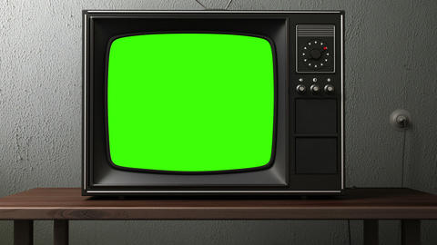 Old TV stock footage