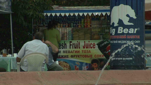 Aini Square Dushanbe Tajikistan 4 Stock Video Footage
