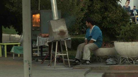 Aini Square Dushanbe Tajikistan 6 Footage