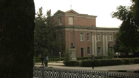 Roadside View Locals Dushanbe Tajikistan 4 Footage