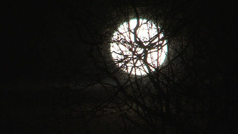 Full moon Footage