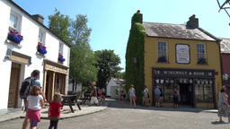 Bunratty Folkpark 11 Stock Video Footage