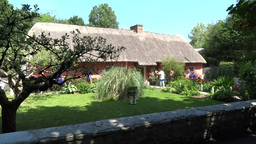 Bunratty Folkpark 17 Stock Video Footage