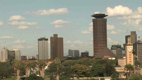 Skyline Nairobi Footage