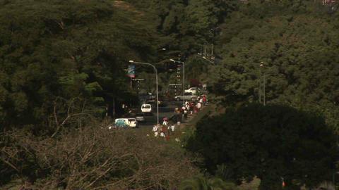 Traffic Nairobi Kenya Stock Video Footage