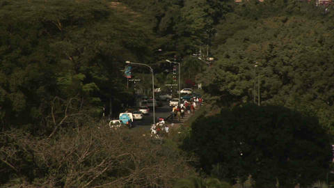 Traffic Nairobi Kenya Stock Video Footage