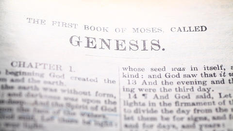Holy Bible Footage