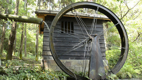 Water mill Stock Video Footage