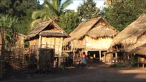 Ban Nalan Khamu village Stock Video Footage