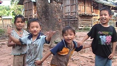 Lenten childeren Stock Video Footage