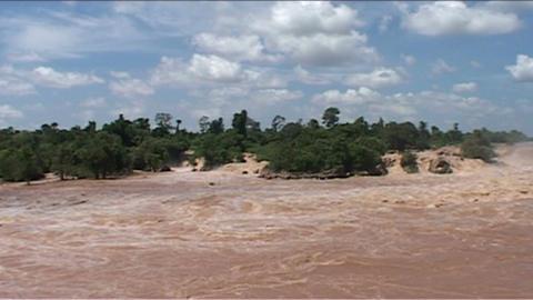 Phapeng waterfall Footage