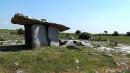 Poulnabrone dolmen 3 Footage