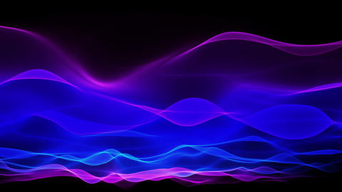 abstract soft wave background, blue waves motion Animation