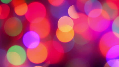 defocused colorful lights abstract background Stock Video Footage