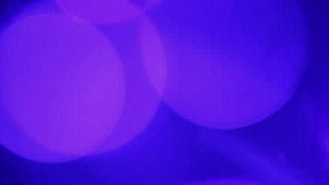 abstract blue background - defocused lights Stock Video Footage