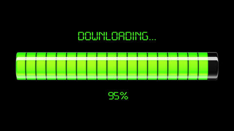 Downloading and uploading process Stock Video Footage