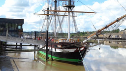 Dunbrody Famine Ship 1 Stock Video Footage