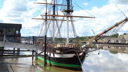 Dunbrody Famine Ship 1 Footage