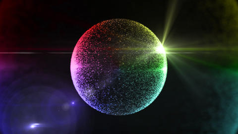 circle particle 3 Animation