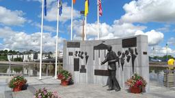 JFK Memorial 1 Stock Video Footage