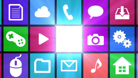 Smart Phone apps G Db 3 HD Stock Video Footage