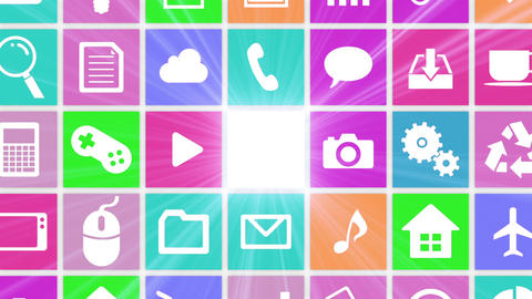 Smart Phone apps G Dw 3 HD Stock Video Footage