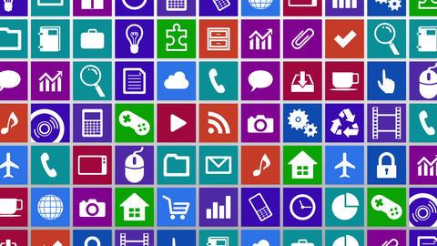 Smart Phone apps G Hw 3 HD Stock Video Footage