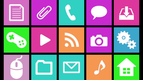 Smart Phone apps G Ib 3 HD Stock Video Footage