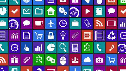 Smart Phone apps G Jb 3 HD Stock Video Footage