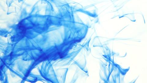Ink Dispersing in water Stock Video Footage