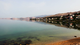 panorama of the bay Stock Video Footage