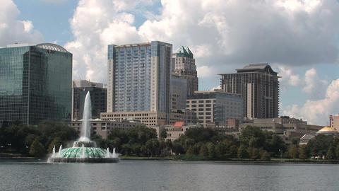 Downtown Orlando Footage
