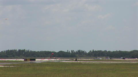 Small airport Stock Video Footage