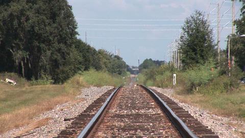 Railroad track Stock Video Footage