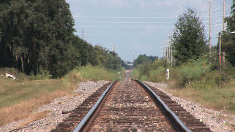 Railroad track Footage