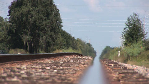 Railroad track Footage