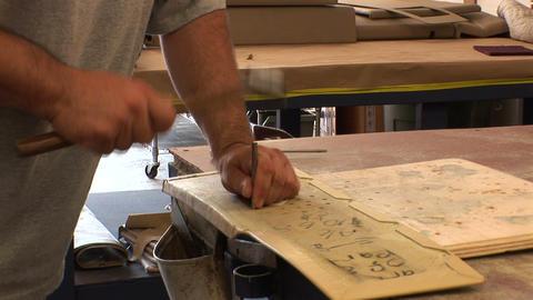 Working sheet metal Footage