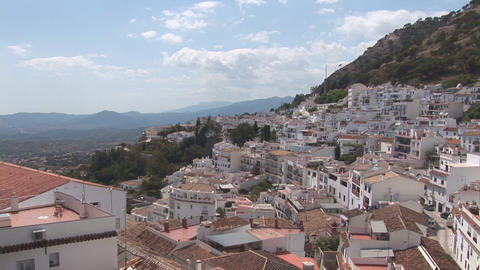 Mijas and arena Stock Video Footage