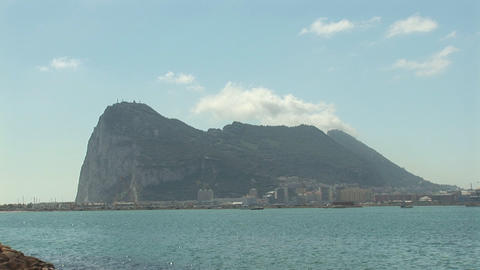 Gibraltar stock footage