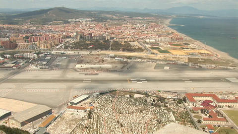 Gibraltar airport Footage