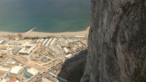 Gibraltar Stock Video Footage