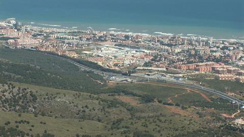 Benalmadena, Spain Stock Video Footage