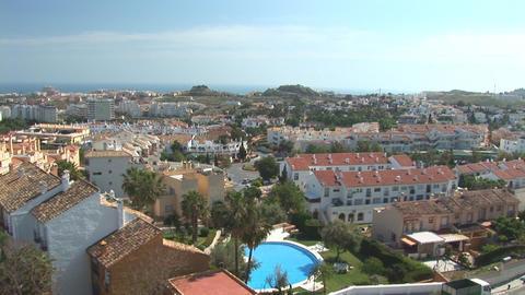 Neighborhood in Spain Stock Video Footage