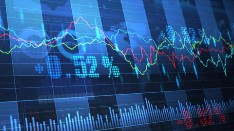 Stock Market trends 063 Animation