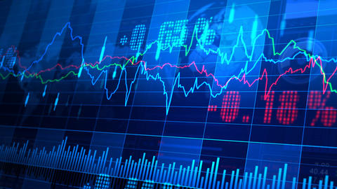 Stock Market trends 064 Animation
