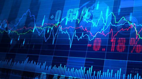 Stock Market trends 064 Animation