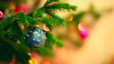 Christmas Background stock footage